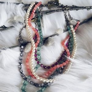 AEO MULTI STRAND NECKLACE